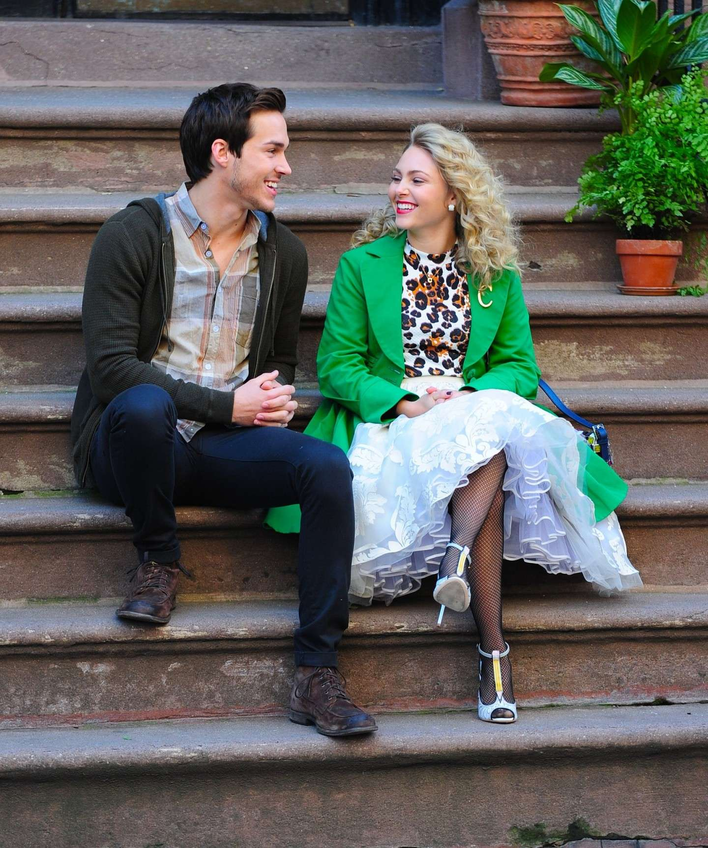 Chris Wood in The Carrie Diaries