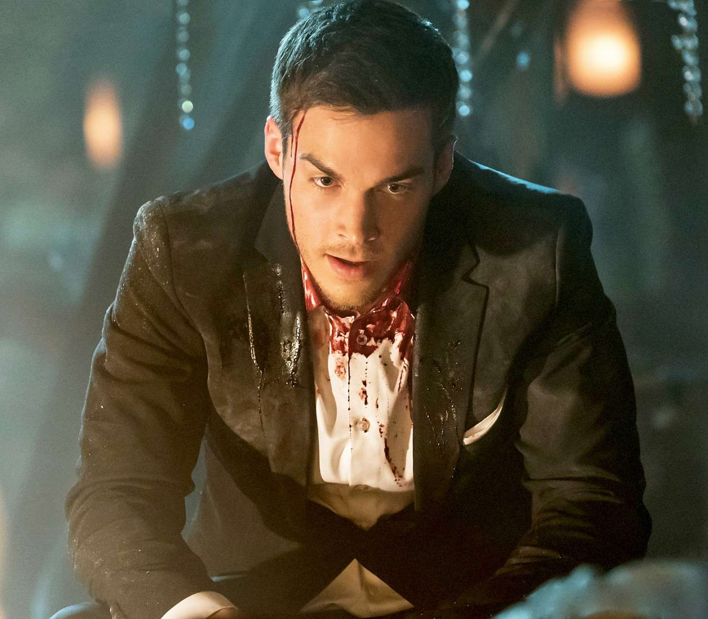 Chris Wood in The Vampire Diaries