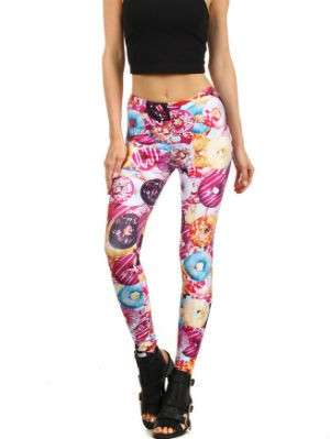 Leggings con donut