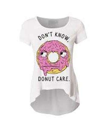 T-shirt Donut care
