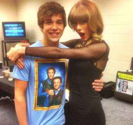Austin Mahone: Red Tour con Taylor Swift! Foto!