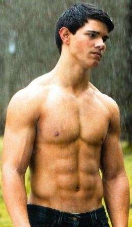 Taylor Lautner in New Moon