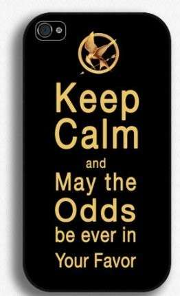 Cover Keep Calm di Hunger Games