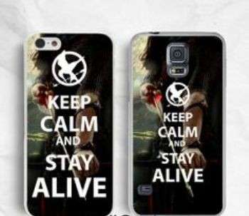 "Cover ""Keep calm and stay alive"""