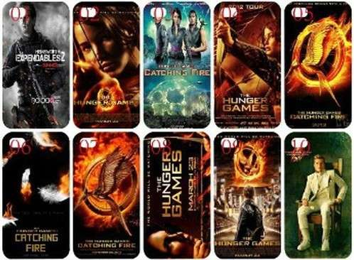 Diverse cover di Hunger Games