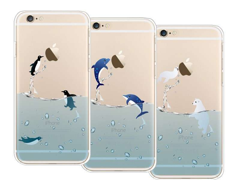 Cover con animali marini
