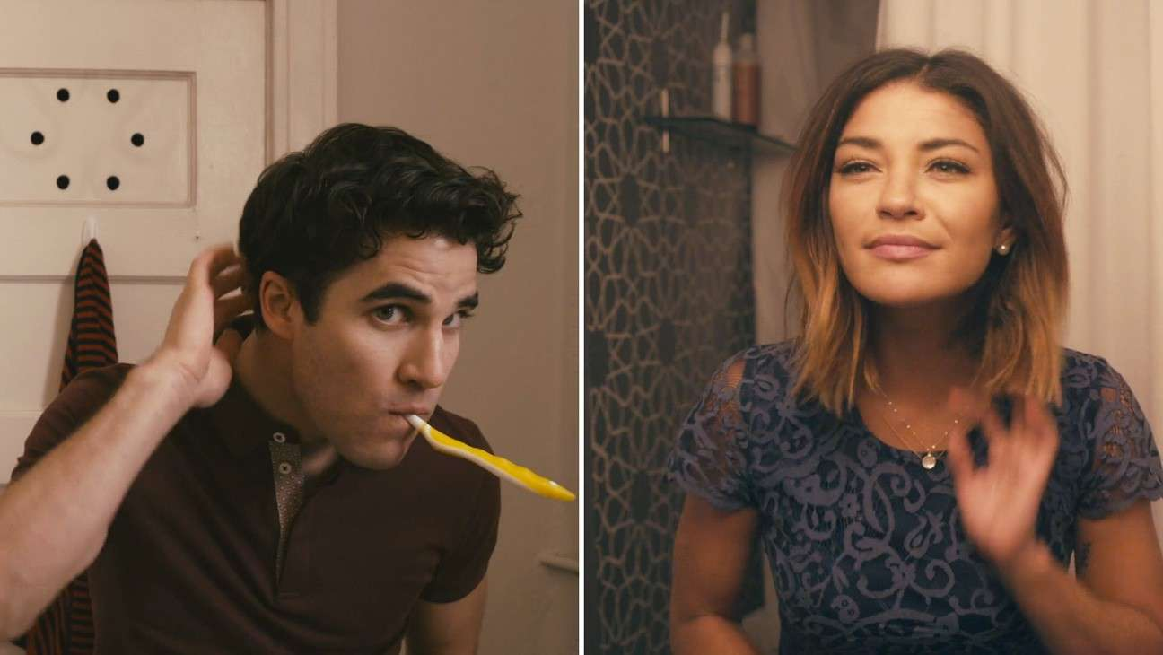 Jessica Szohr e Darren Criss nel video degli A Great Big World