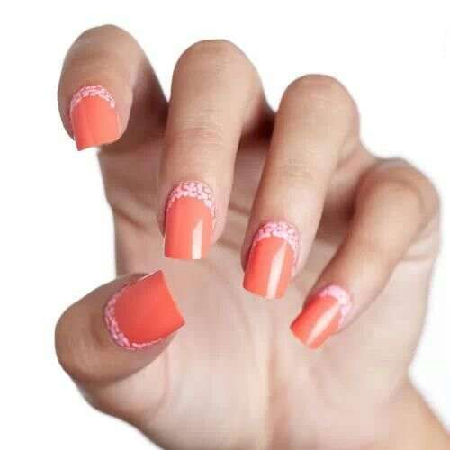 Originale reverse french manicure