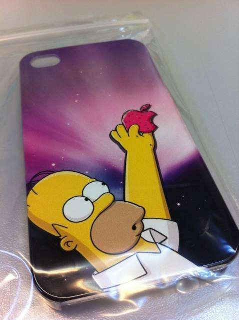 Cover con Homer Simpson