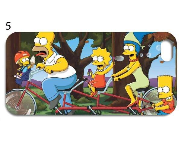 Cover dei Simpson in bicicletta