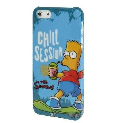 Cover di Bart sullo skateboard