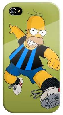 Cover con Homer interista