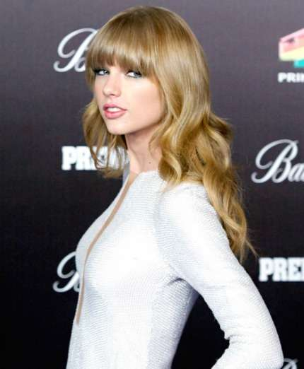 Taylor Swift in bianco