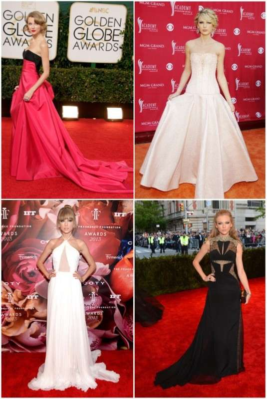 Ragazze da red carpet: Taylor Swift! Foto