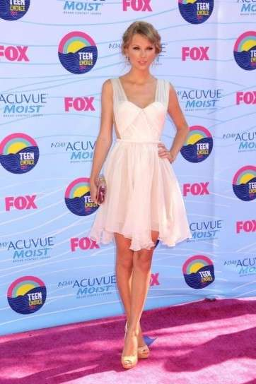 Taylor Swift ai Teen Choice Awards 2012