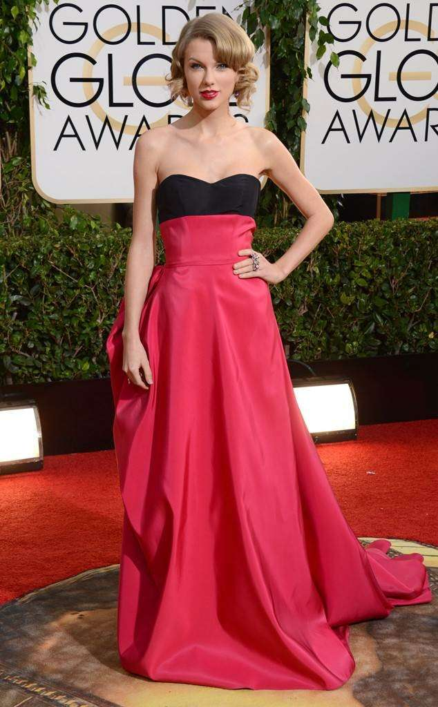 Taylor Swift ai Golden Globe del 2015