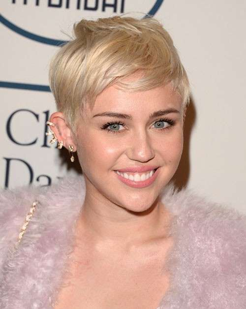 Pixie cut di Miley Cyrus