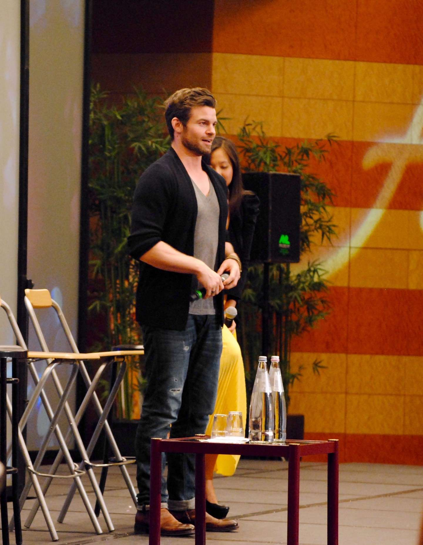 Daniel Gillies alla Love&Blood ItaCon 3D