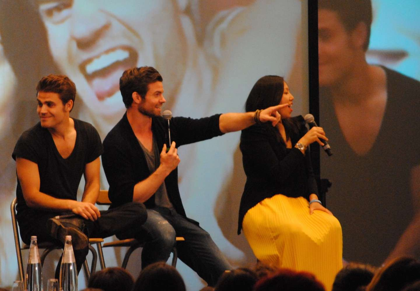 Panel di Daniel Gillies e Paul Wesley alla Love&Blood ItaCon 3D