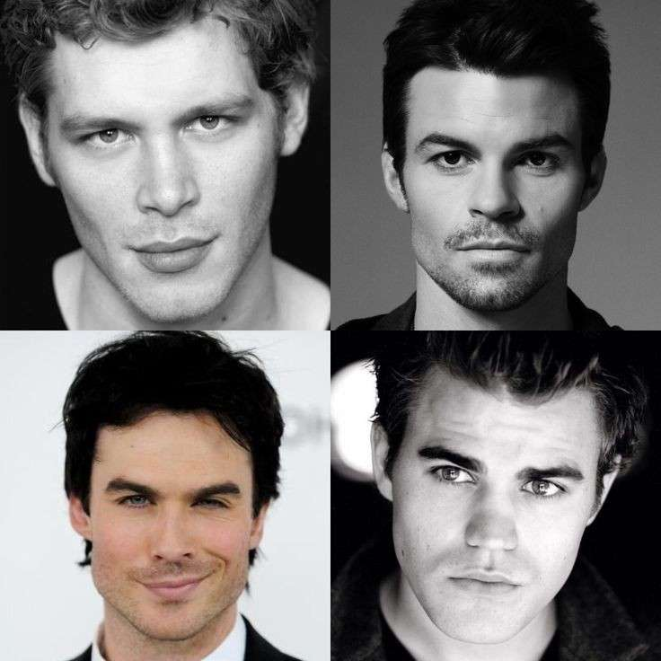 Ian Somerhalder, Joseph Morgan, Daniel Gillies e Paul Wesley