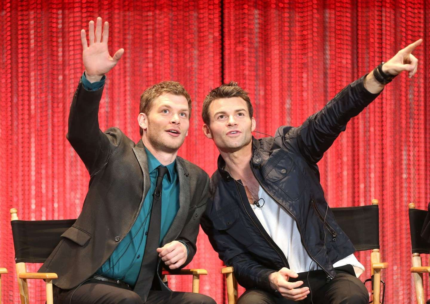 Daniel Gillies e Joseph Morgan