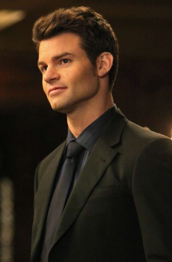 Daniel Gillies sul set di The Originals