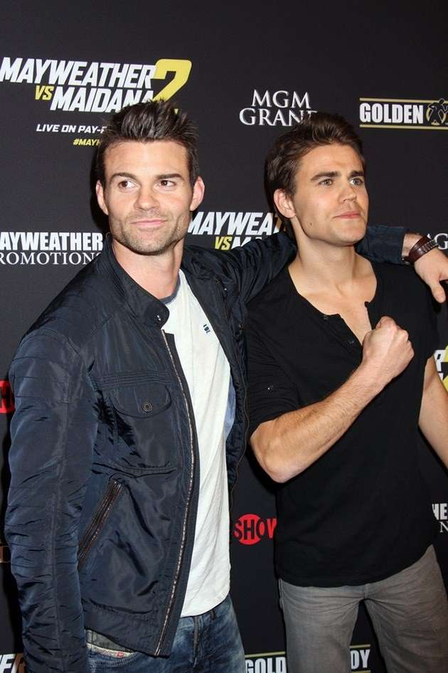 Scatto di Daniel Gillies e Paul Wesley