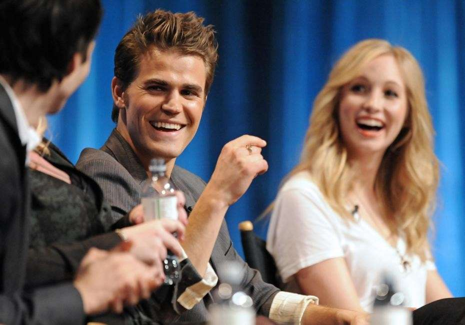Paul Wesley e Candice Accola