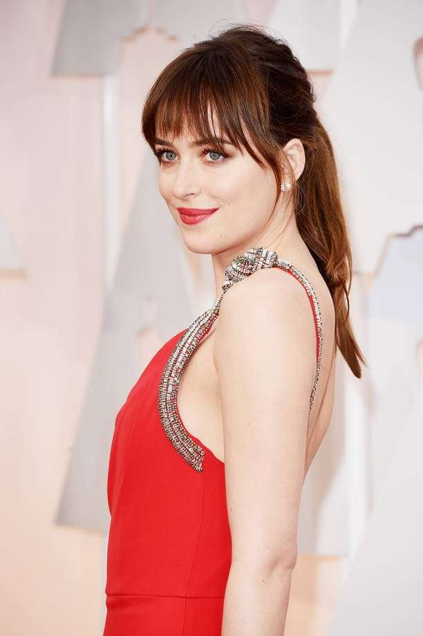 Dakota Johnson con l