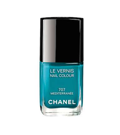 Smalto blu di Chanel