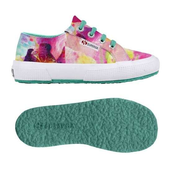 Sneakers Superga con fiori