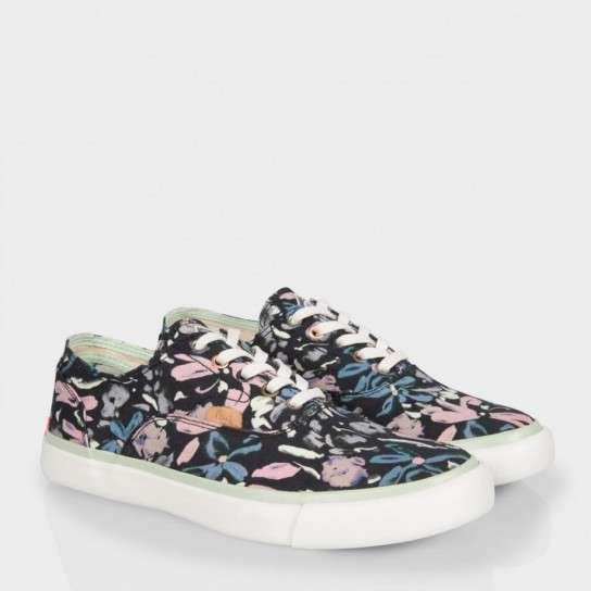 Sneakers con fiori Paul Smith