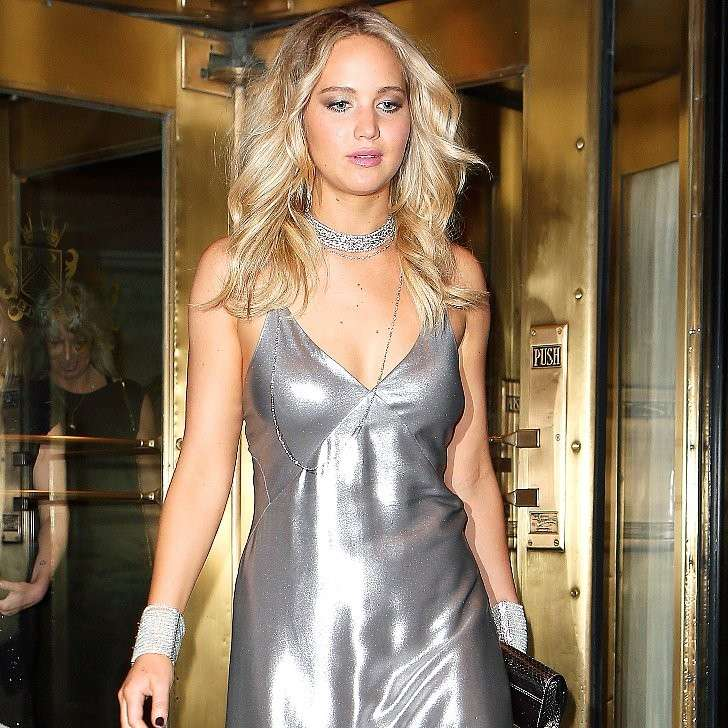 Jennifer Lawrence al party Met Gala 2015