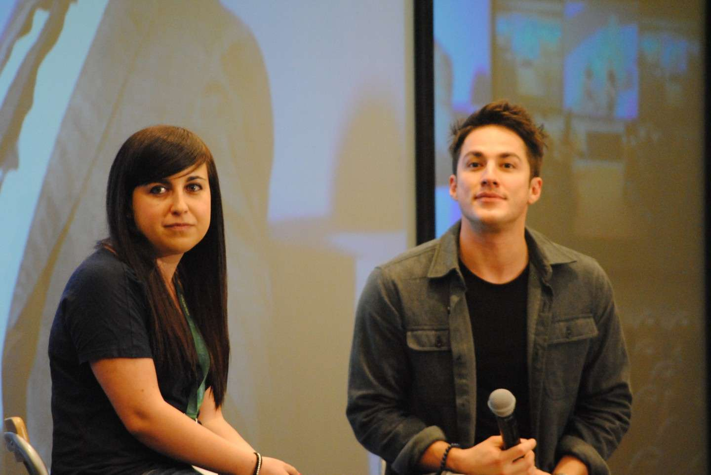 Michael Trevino alla Love&Blood 3D