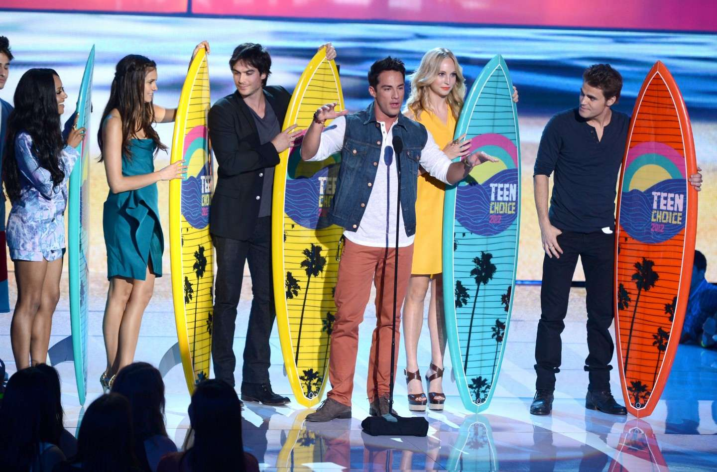 Il cast di The Vampire Diaries ai TCA