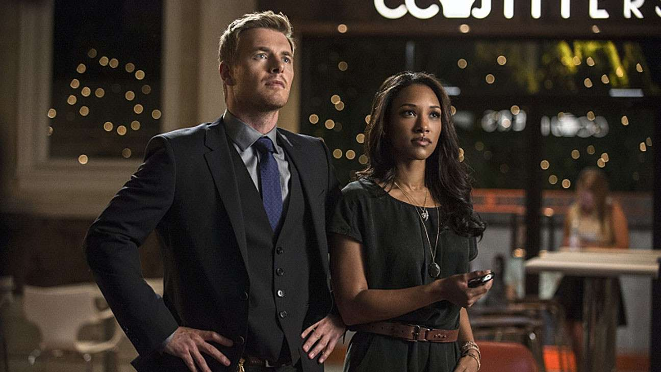 Rick Cosnett  e Candice Patton