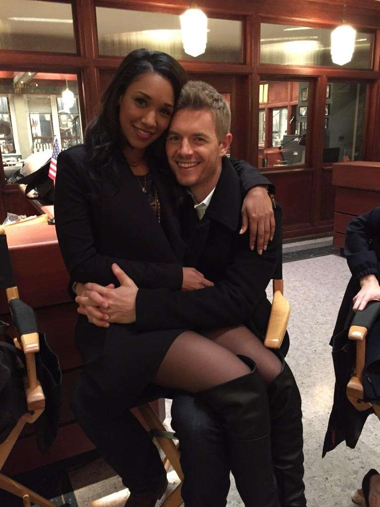 Candice Patton e Rick Cosnett