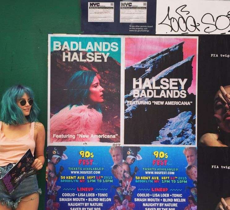 Halsey e Badlands
