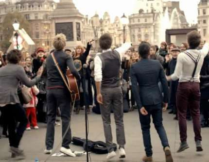 Londra - Itinerario One Direction