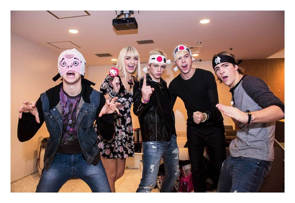 R5 in un momento di follia