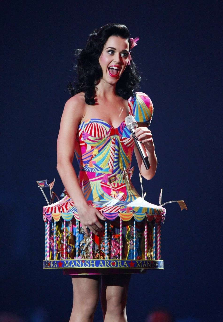 Katy Perry come una giostra