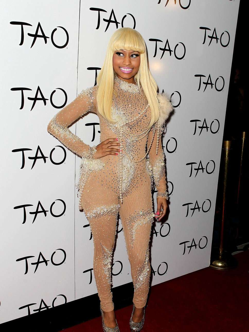 Nicki Minaj e il nude look