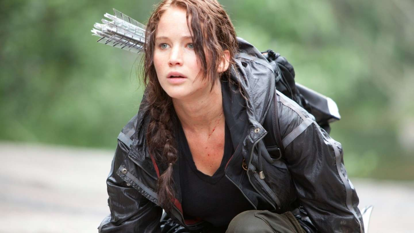 Jennifer Lawrence nei panni degli Hunger Games