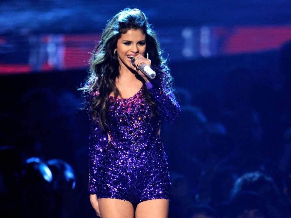 Selena Gomez in tour