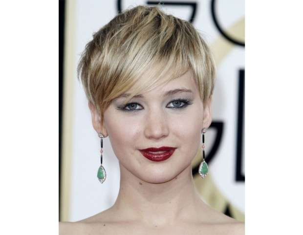 Jennifer Lawrence rossetto bordeaux