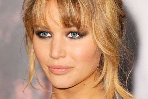 Jennifer Lawrence nude make up