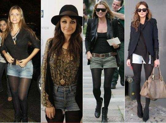 Shorts per il look autunnale