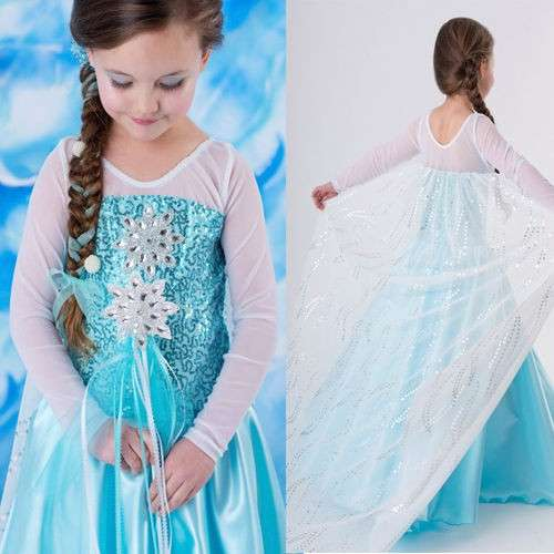 Come fare il costume di Elsa di Frozen