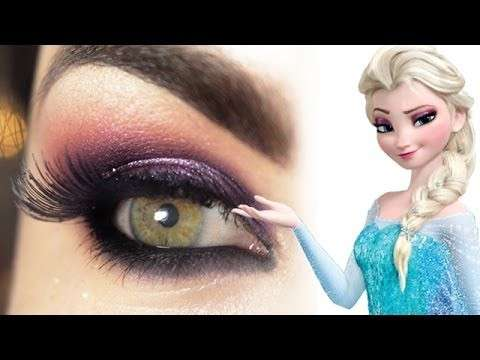Idee per il make up di Elsa