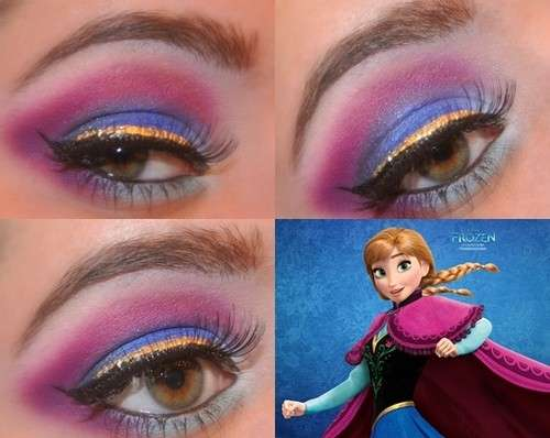 Il make up di Anna di Frozen